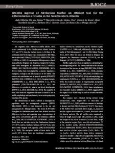 Icon of Vaz Dos Santos Et Al (2002) Otoliths Sagittae Of Merluccius Hubbsi Tool For Stock Discrimination In SW Atlantic