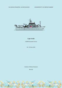 Icon of Nansen Cruise Report (2011) Cape Verde