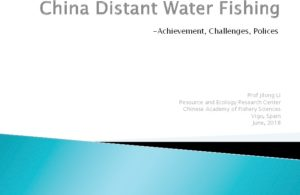 Icon of Polices For China Distant Water Fishing And Its Practices In Africa
