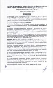 Icon of 2019 JCM Senegal Procès Verbal De La Cinquième Commission Mixte Ordinaire Dakar 02-03 Décembre 2019