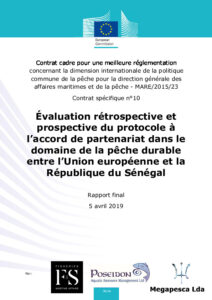 Icon of SENEGAL Ex Post Rapport Final 2019