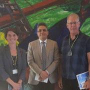Ambassador of Mauritania with UNU-FTP staff